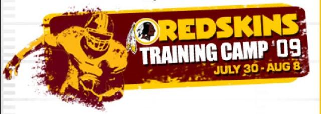 Event - Aug 2009 - Redskins training camp
