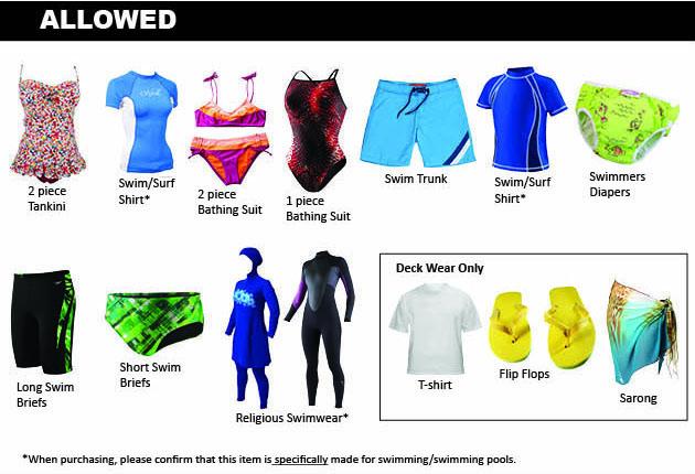 Dpr Releases Guidance Regarding Swim Attire Requirements