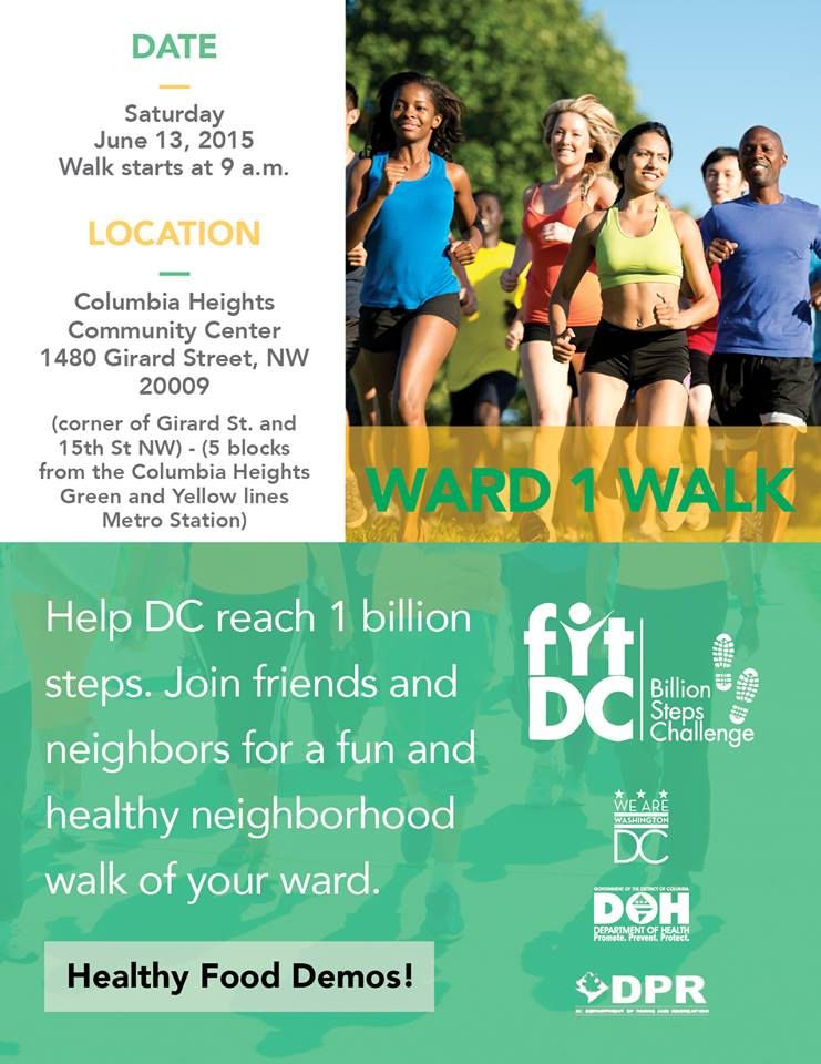 Ward 1, Ward Walk flyer
