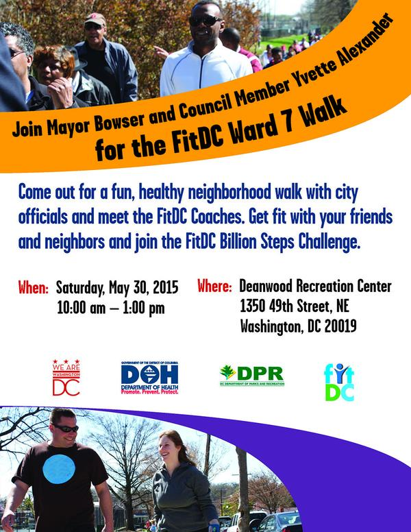 Ward 7, Ward Walk flyer